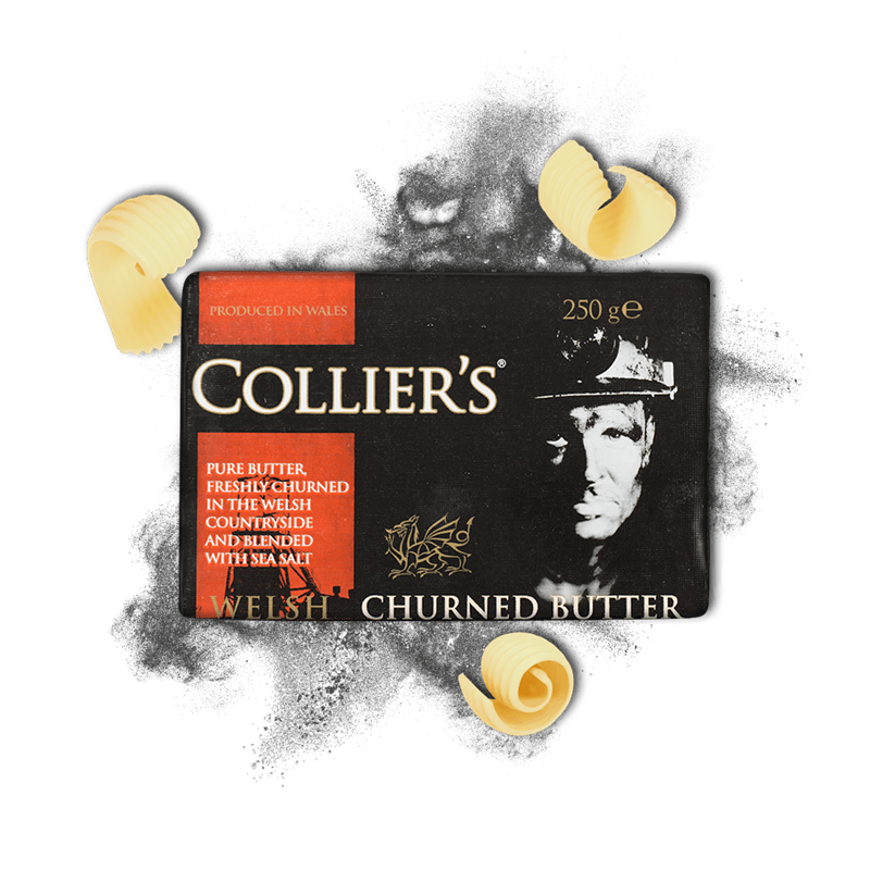 Colliers Cheese Collier's Butter