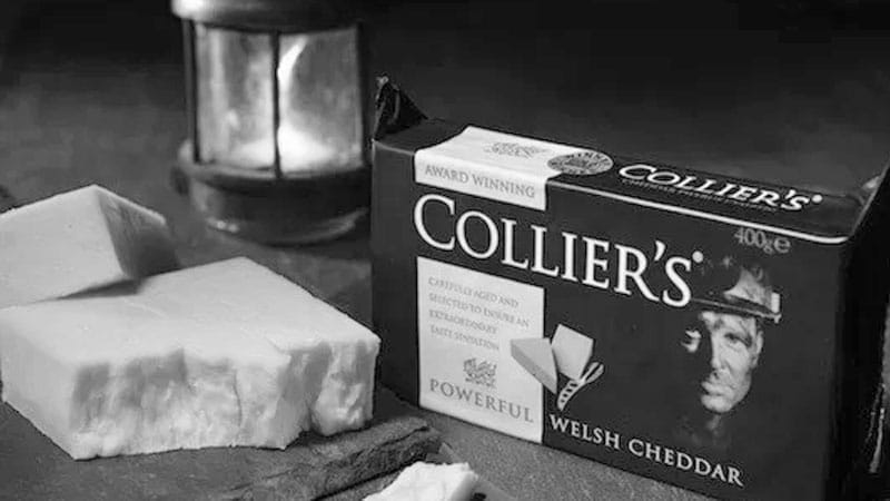 Colliers Cheese Born in South Wales